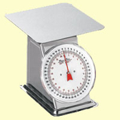 44 lb Stainless Steel Dial Scale