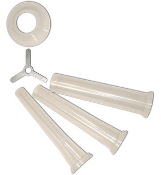 3 Piece Funnel Sets for Manual Meat Grinders
