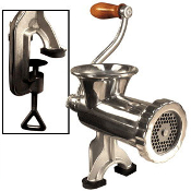Stainless Steele Manual Meat Grinder #10