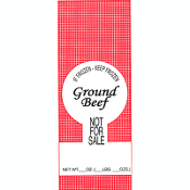 Poly Meat Bags - Wild Game, Ground Beef, Pork, Plain - 100 Count