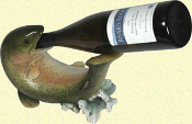 Trout Wine Bottle Holder