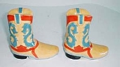 Cowboy Boot Salt & Pepper Shakers